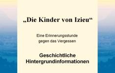 """NAK Eschweiler - 01.11.08 - Erinnerungsstunde: """"Die Kinder von Izieu"""""""